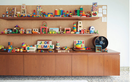 A Functional, Dual-Purpose Playroom