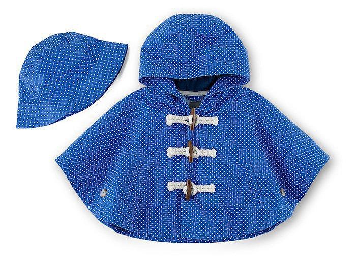 Printed Bucket Hat ($19) , Printed Toggle Poncho ($50)<br /><br /><br /><br /><br /><br /><br />
