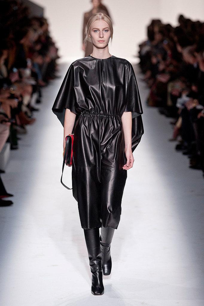 Modetrend für den Herbst 2014: Alltags-Leder Valentino