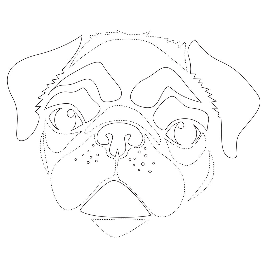 Downloadable Dog Breed Pumpkin Stencils