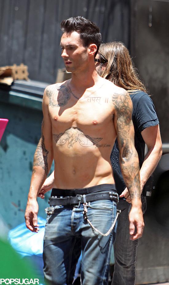 Adam Levine Hot Pictures   POPSUGAR Celebrity