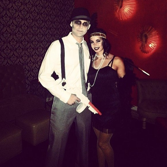 Zombie Gangster and Flapper