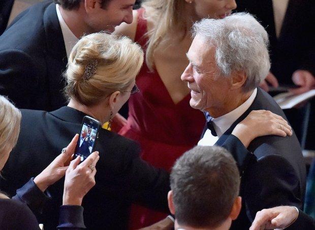 Meryl Streep and Clint Eastwood Talked