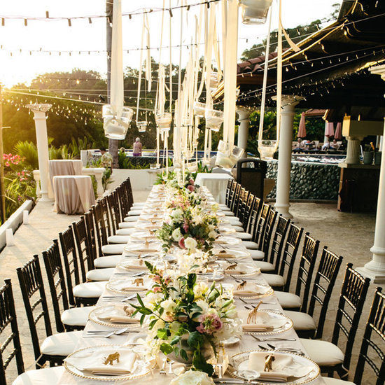 Unique Wedding Altar Ideas and Pictures | POPSUGAR Home on Backyard Table Decor id=16899