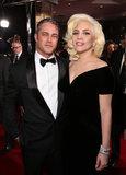 Signora Gaga Left Taylor Kinney dal suo discorso di accettazione, ma dalla lei lo ha ringraziato più successivamente