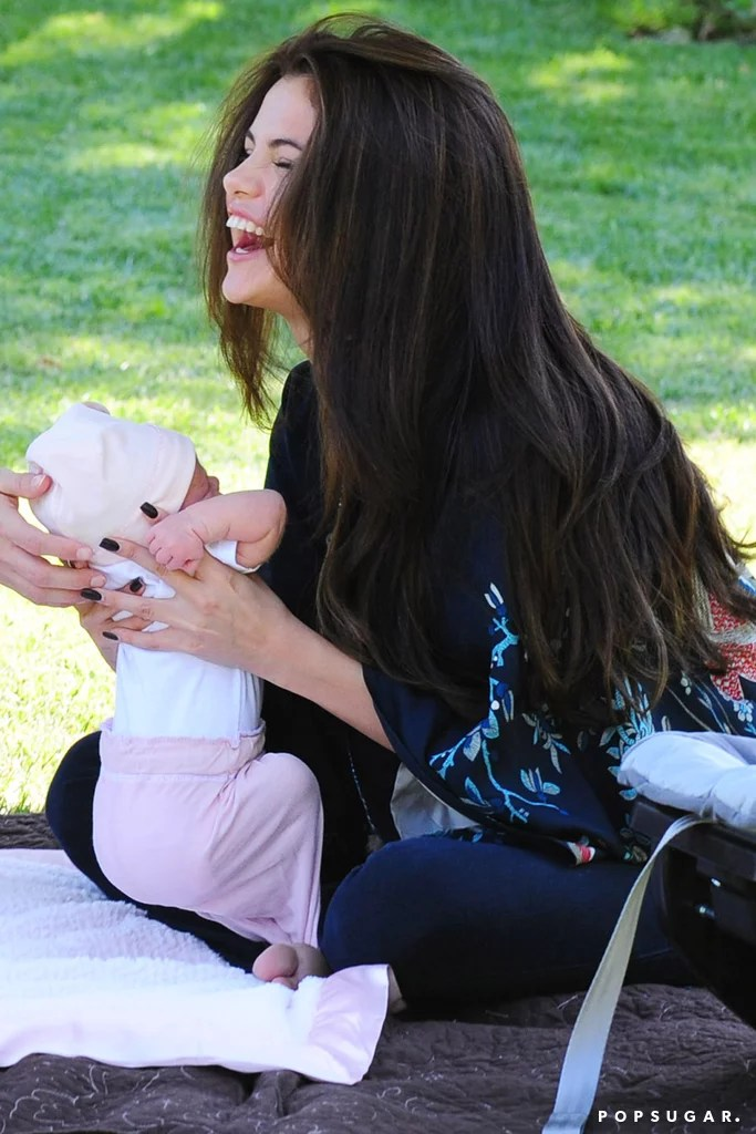 Her Selena And Boy Baby