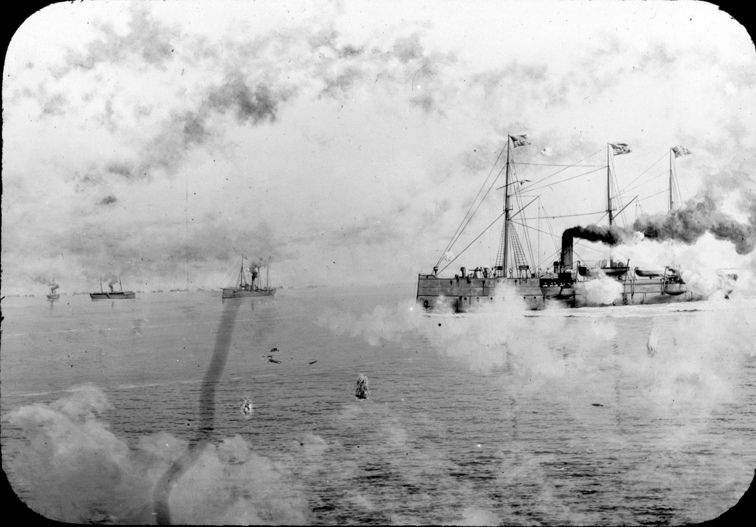 U S Navy Reveals Dozens Of Rare Spanish American War