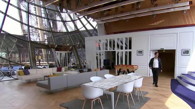 Visit The Luxury Apartment Hidden Inside Eiffel Tower