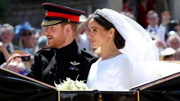 Meghan Markle becomes a princess after royal wedding with ...