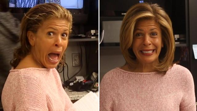 hoda kotb's hair transformation: see the today show host go