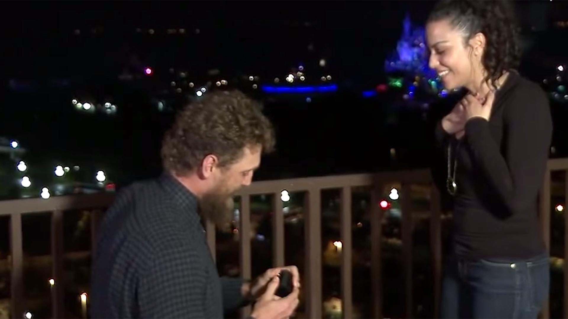 MLB Star Hunter Pence Pulls Off Magical Wedding Proposal