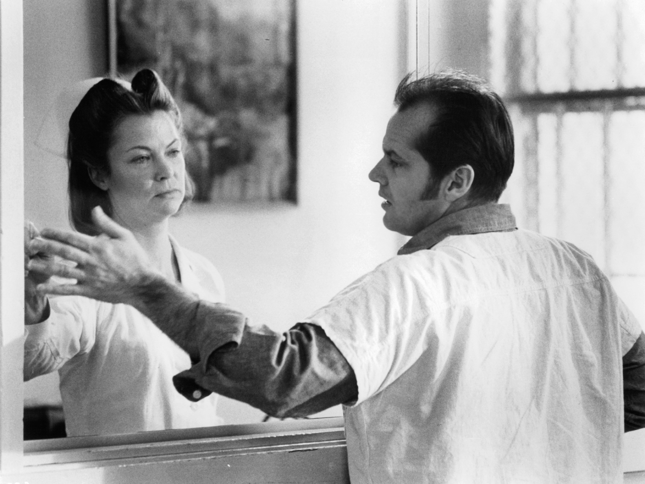 Image result for randle mcmurphy nurse ratched