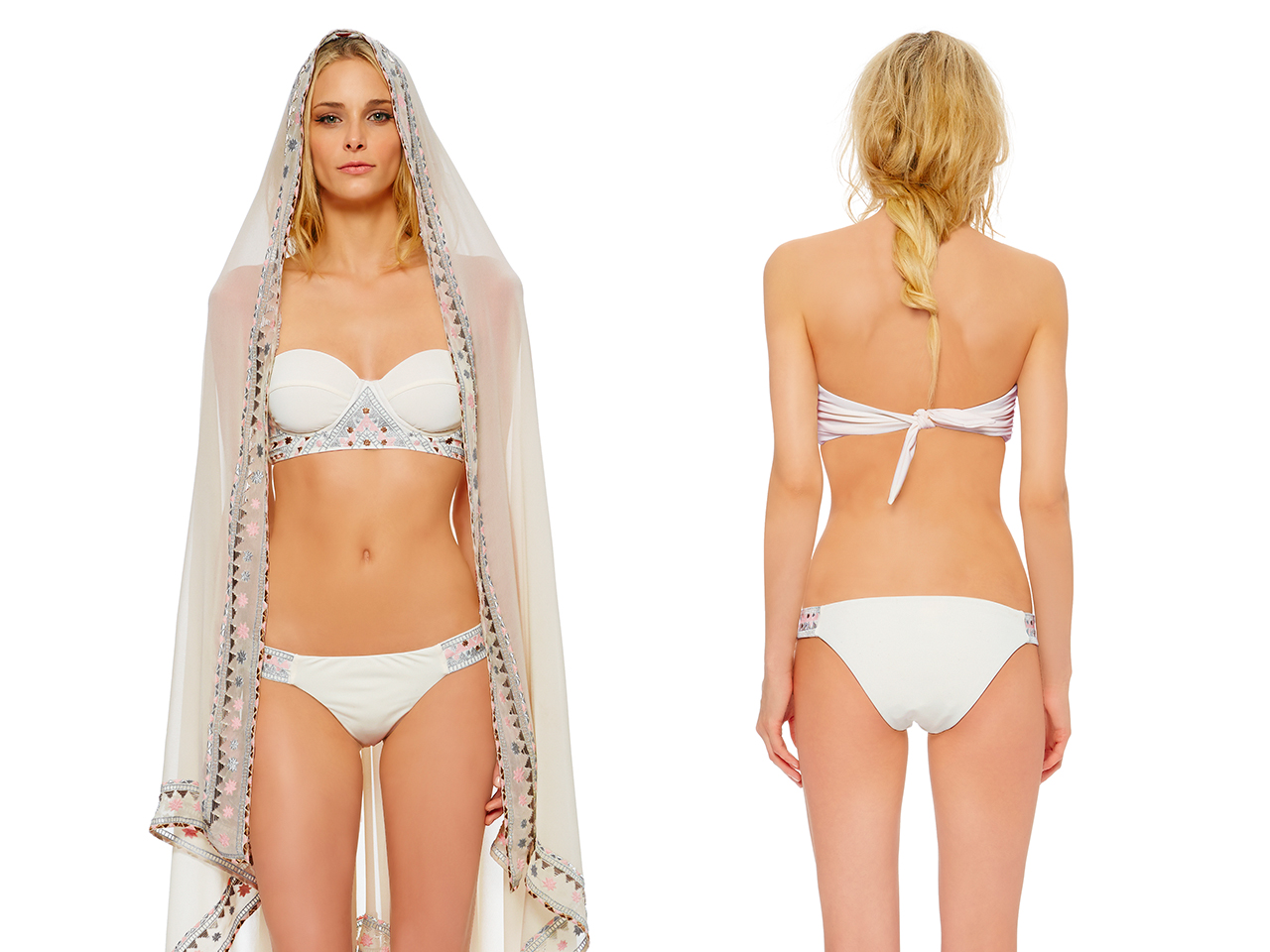 Something Old, New, Borrowed And Skimpy? Behold The Bridal