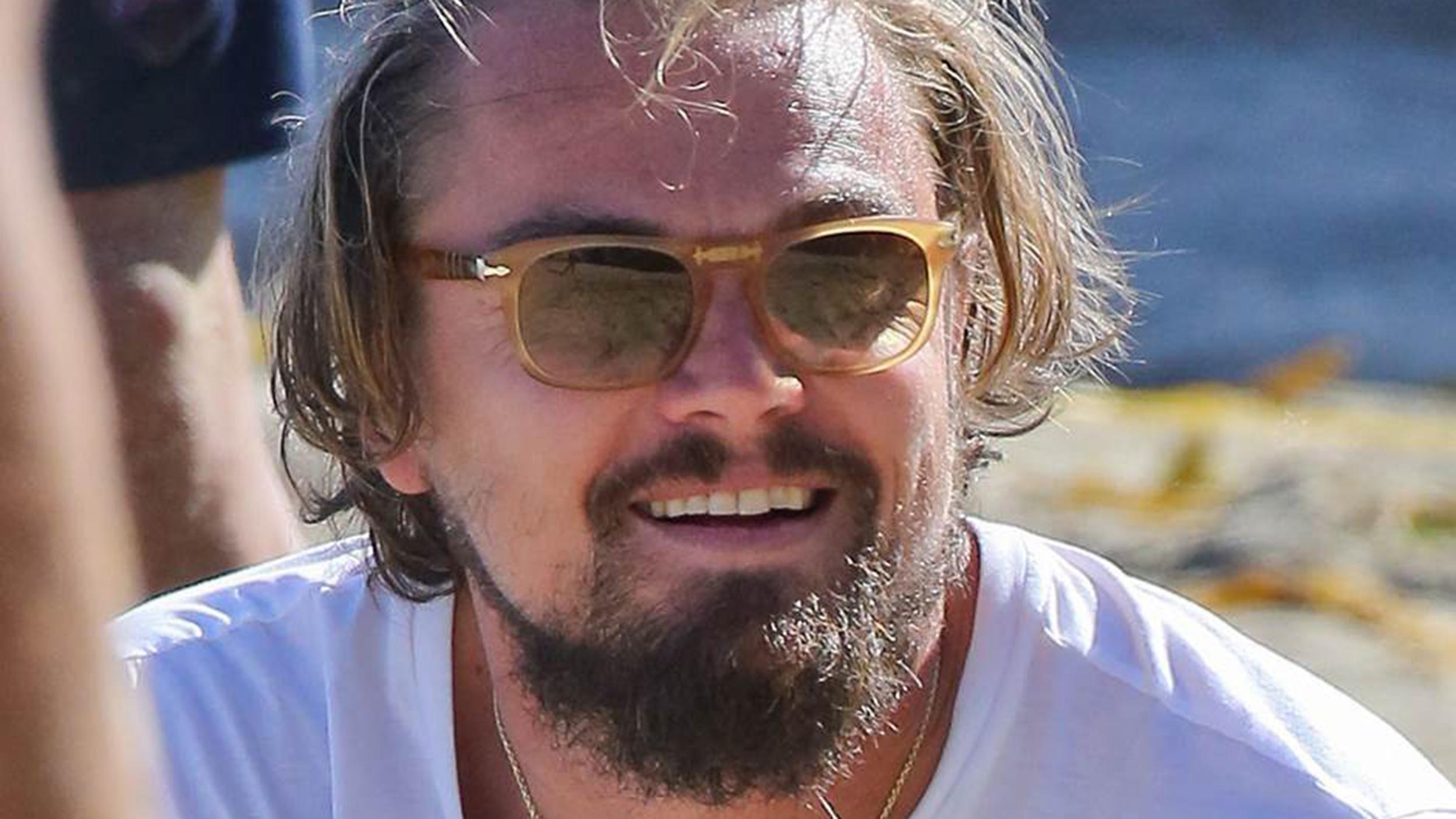 Leonardo DiCaprios Style Shipwreck Scruffy Actor Hits