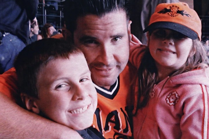 Image: Dodger Stadium beating victim Bryan Stow, center.