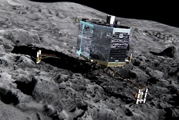 Its Showtime Philae Probe Revs Up for Historic Comet