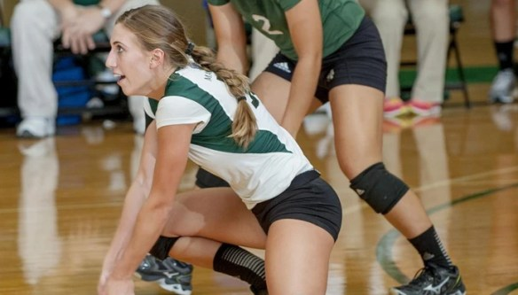 After suffering four concussions playing college volleyball, Ellie Wiekamp, 24, still has headaches and memory problems.