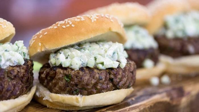 Hoda Kotb and brother Adel grill kofta burgers