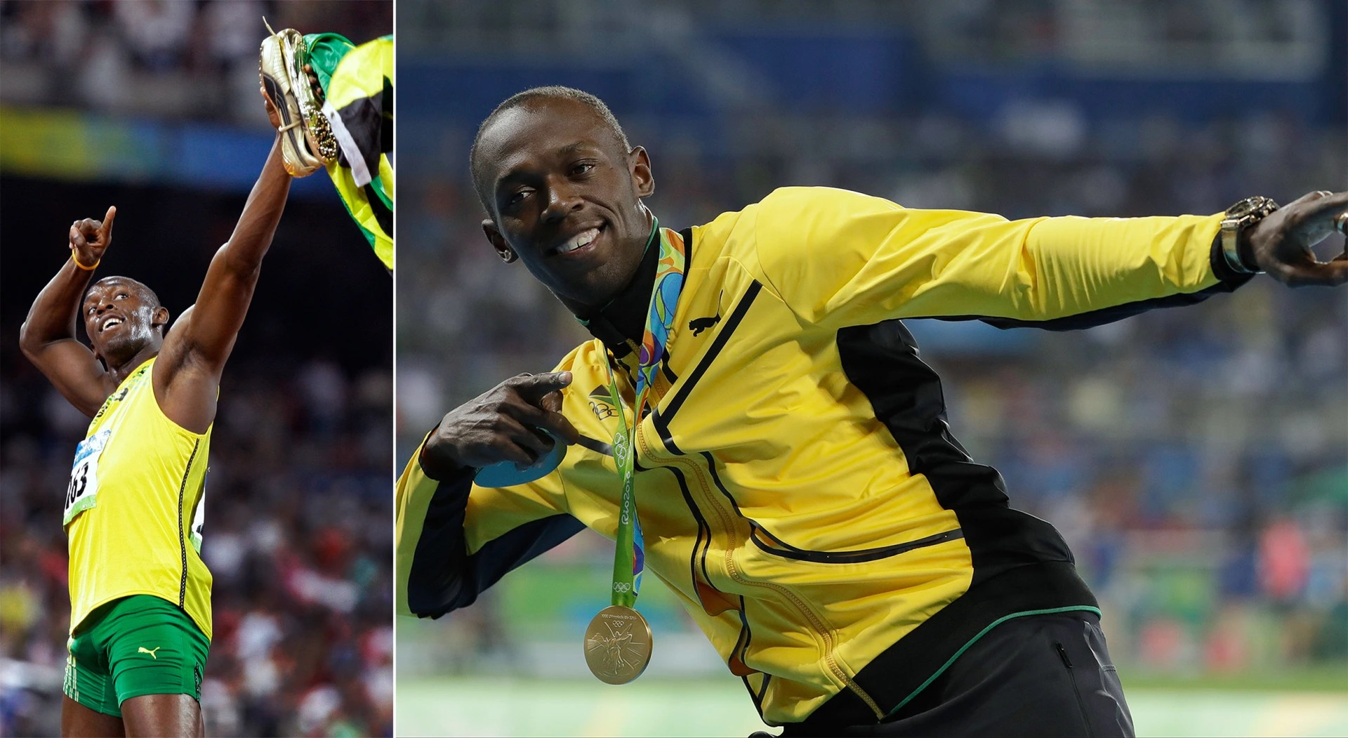 Olympic Athletes Now And Then