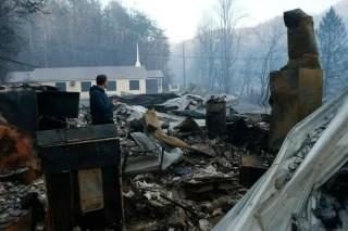 Image: Gatlinburg wildfires