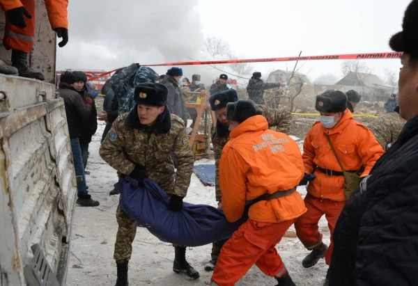 Image: KYRGYZSTAN-AVIATION-ACCIDENT