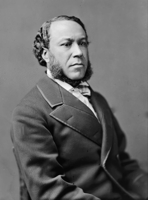 Image: Joseph Rainey of South Carolina is pictured ca. 1865.
