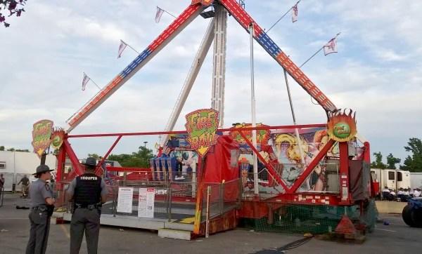 Image: Ohio State Fair Accident