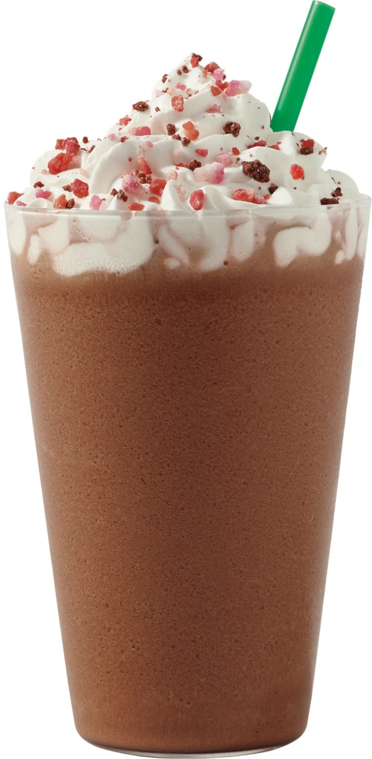 The Cherry Mocha also comes iced as well as hot and blended.