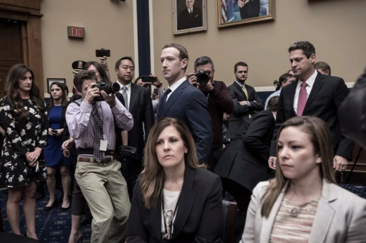 Image: Mark Zuckerberg appears before the House and Energy Committee