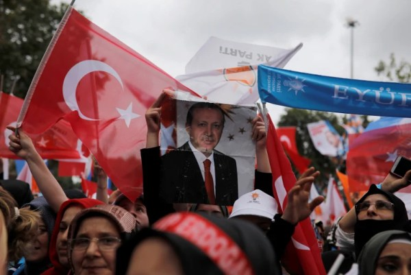 Erdogan claims victory in Turkey's high-stakes election