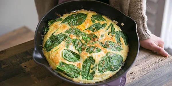 4 Ingredient Fall Frittata