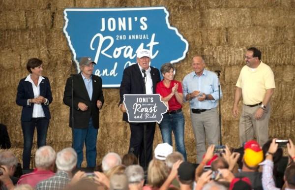 In divorce papers, Joni Ernst says Trump interviewed her ...