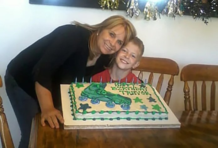 Dawna Johnson and her son Trevor were killed in the attack.