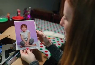 Cibolo, Tx., December 11. 2013: A photo of Alexis, now 12, prior to her 2011 surgery. Alexis Shapiro, 12, had a brain tumor removed three years ago, w...