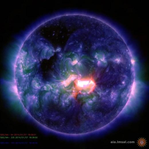 Image: Solar activity