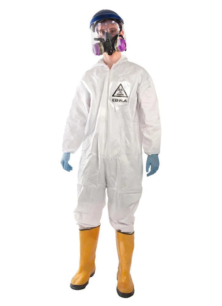 Would you wear a Ebola hazmat suit this Halloween season?
