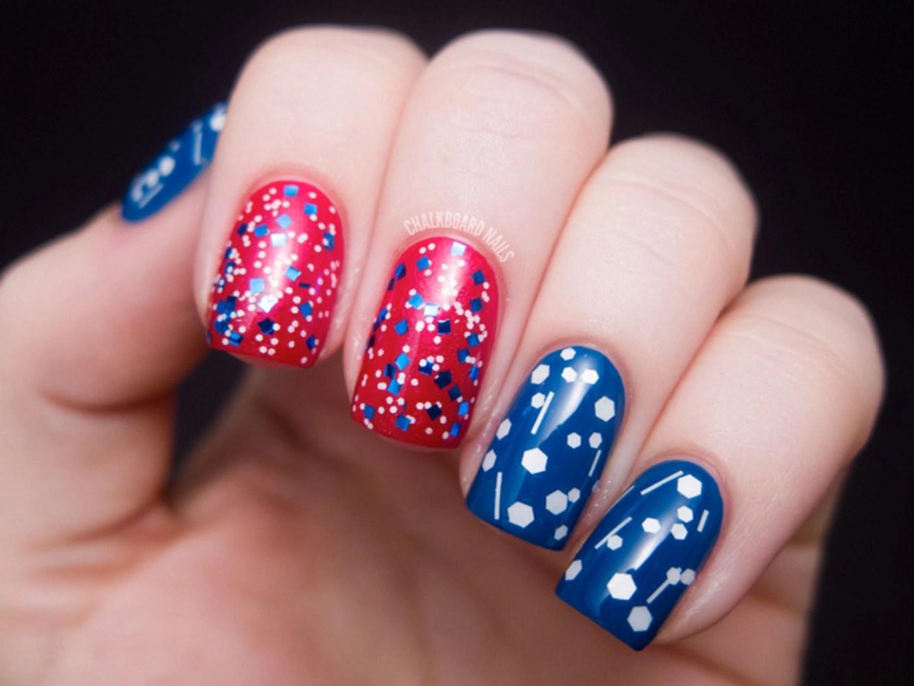 July 4th Nail Art