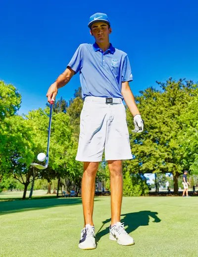 Luke Dugger, Davis, Golf
