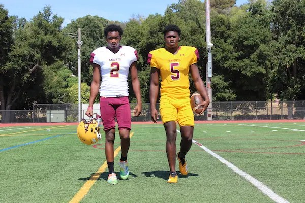 Las Lomas, Football, Isaiah Newell, Jalen Apalit-Williams