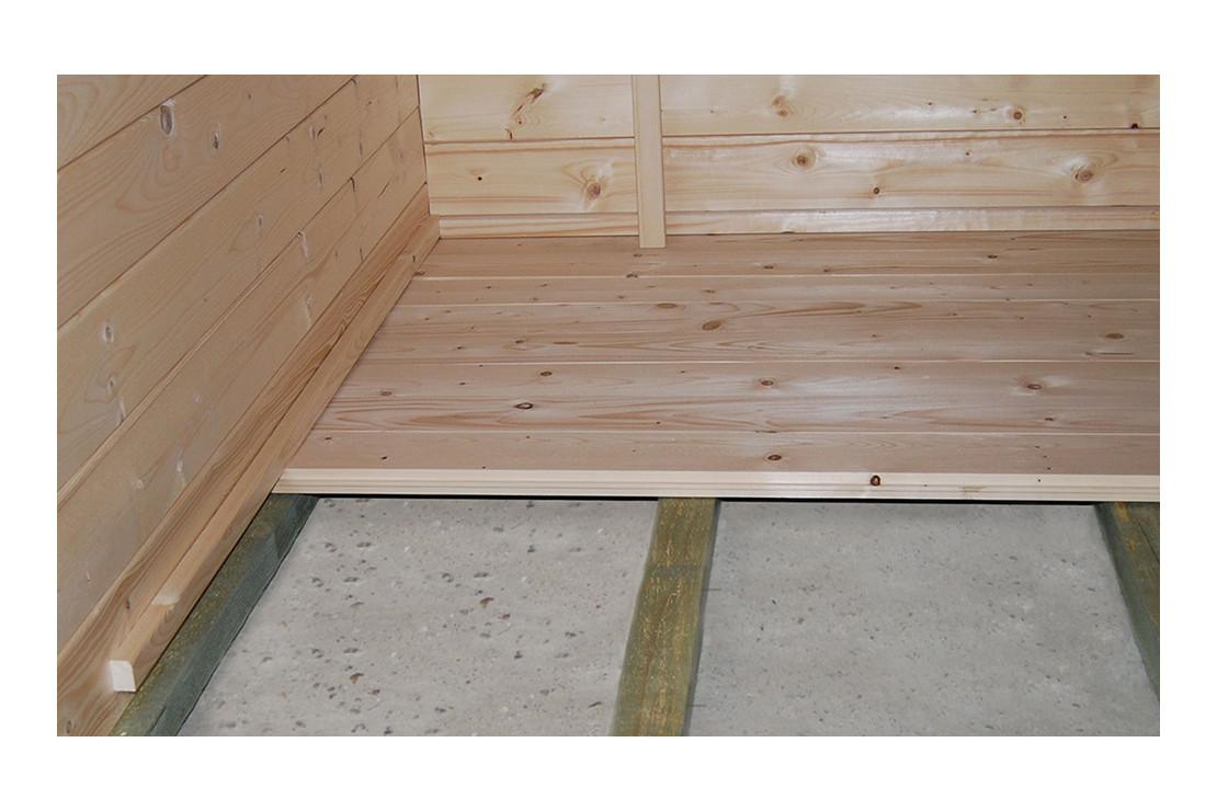 plancher pour abri muret