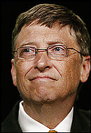 Bill Gates said his foundation wants to reduce extreme poverty.