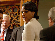 Many in the State Department's rank and file see Secretary Condoleezza Rice as aloof, reliant on her closest aides and out of touch with the other employees.