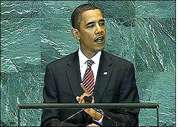 Click to watch Obamas UN speech.