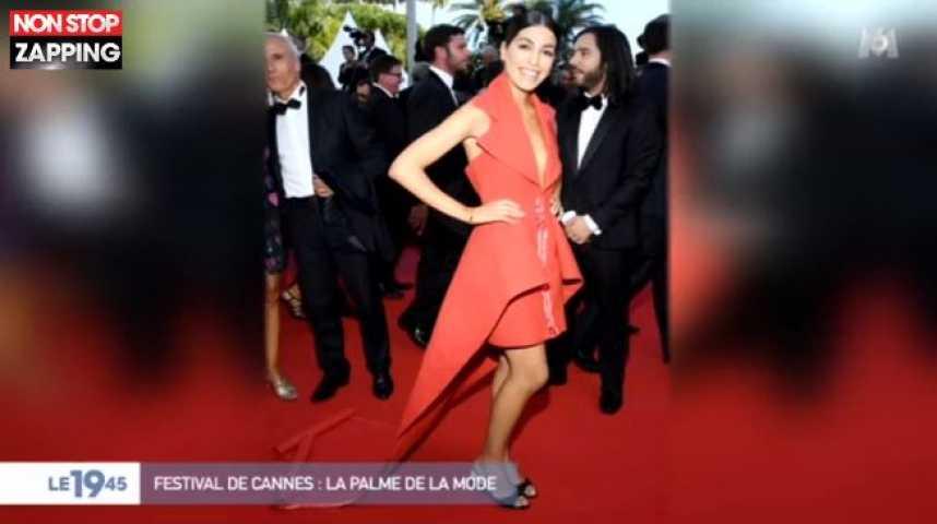 cannes 2019 une robe concue avec des chutes de tapis rouge video