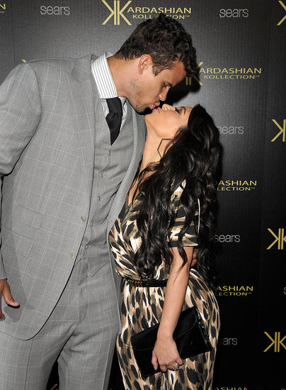 Kim Kardashian and Kris Humphries Kissing Pictures in LA