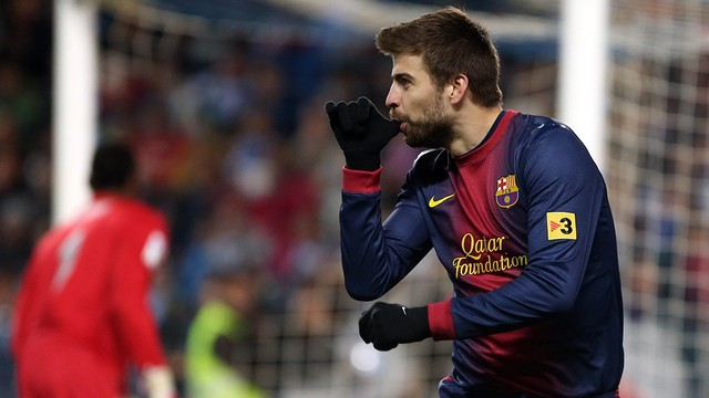 Piqué / PHOTO: MIGUEL RUIZ-FCB.