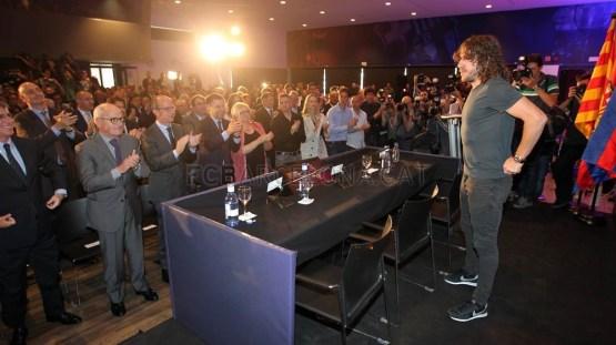 موقع برشلونة بالصور| أبرز لقطات حفل وداع الكابيتانوالكاتب BFB قبل 6 سنوات