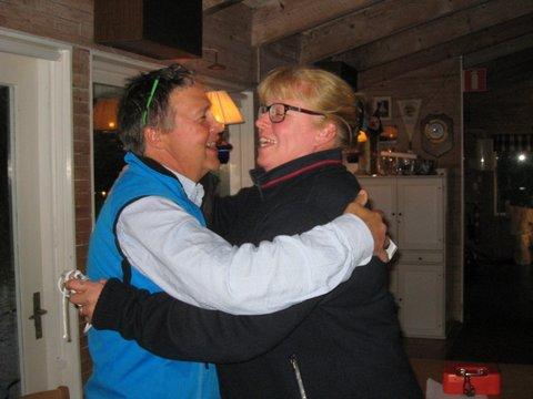 2:dra pris till tävlingsledaren Per och Birgitta