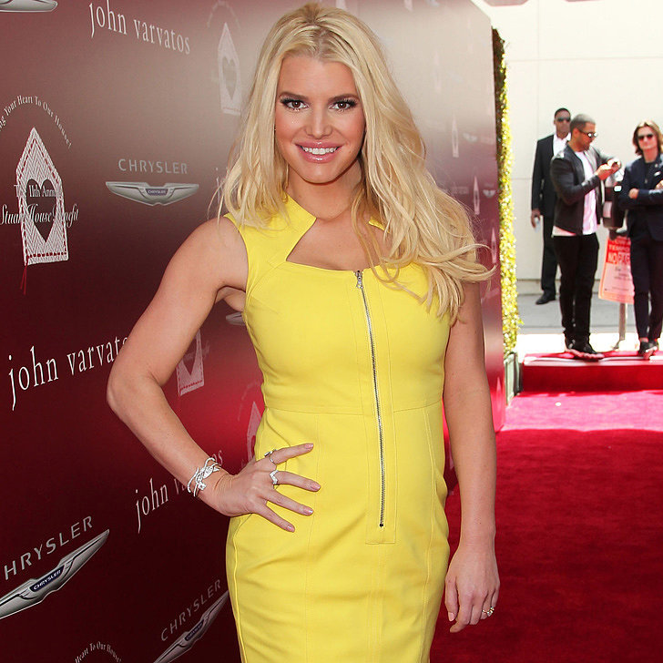 We Can't Remember the Last Time Jessica Simpson Looked THIS Good