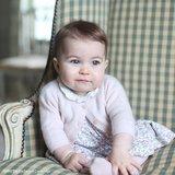 Principessa Charlotte è troppo sveglia per le parole in nuove foto prese da Kate Middleton